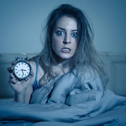 Schlaflosigkeit kann zur Verzweiflung führen.