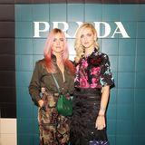 Schwester-Power bei Prada:Valentina und Chiara Ferragni