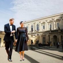 """Prinz Harry und Herzogin Meghan feiern in der """"Villa Aurelia"""" die Hochzeit von Meghans Freundin Misha Nonoo undMichael Hess."""