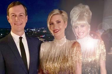 Jared Kushner, Ivaka Trump und Ivana Trump