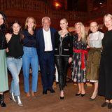 Excellence Club 2019: Die Gastgeber freuen sich auf ein inspirierendes und spannendes Wochenende (v.l.): Brigitte Huber, Doris Brückner, Julia Jäkel (alle Gruner + Jahr), Hans-Reiner Schröder (Direktor BMW Berlin), Anne Meyer-Minnemann (G+J), Astrid Bleeker (G+J), Maria Hauser (Stanglwirt), Anne Petersen (G+J).
