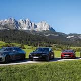 Excellence Club 2019: Die schicke 7er BMW-VIP-Flotte steht den Leading Women das ganze Wochenende zur Verfügung.