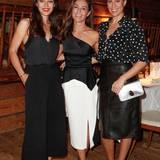 Excellence Club 2019: Im eleganten Schwarz-Weiß Look strahlen Nilam Farooq, Nazan Eckes und Jasmin Gerat an diesem Abend um die Wette.