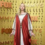Mittelalterlich: Gwendoline Christie in Gucci
