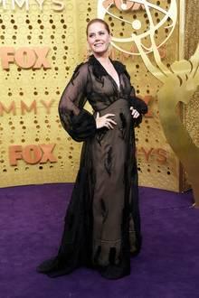 Düster: Amy Adams in Fendi Couture