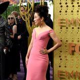 Bonbon-Glamour: Sandra Oh in Zac Posen
