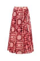 Der Herbst steht in den Startlöchern, auf schöne Röcke verzichten müssen wir dennoch nicht! Dieses Modell in den Trendfarben Rot und Rosa passt perfekt zu Strickpullover oder Stiefelette, kann aber auch zu Sneakern und Shirt kombiniert werden. Aus der DAWID by Dawid Tomaszewski Kollektion, erhältlich bei Qvc, 85 Euro