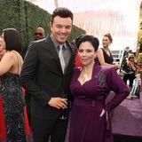 "Style-Kollegen im Retro-Look: ""Family Guy""-Stars Seth MacFarlane und Alex Borstein"