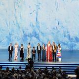 """Noch agieren die """"Game of Thrones""""-Darstellerals Präsentatoren, später werden sie selbst als Gewinner des Emmys für die Beste Drama-Serie auf der Bühne stehen."""