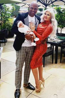 Daniel Charlier und Sophia Vegas mit TochterAmanda Jacqueline
