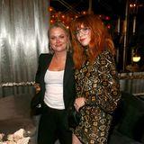 Amy Poehler und Natasha Lyonne haben sich für die Netflix-Party ebenfalls noch mal umgezogen.
