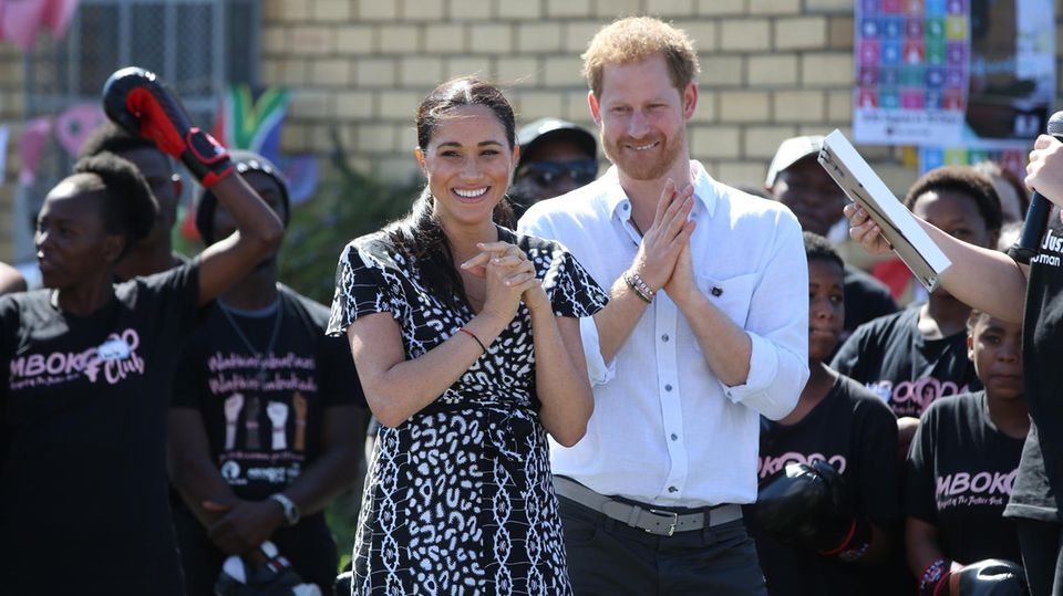 Prinz Harry und Herzogin Meghan in Capetown