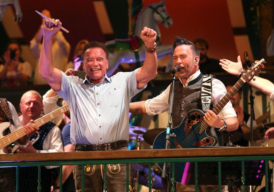 Arnold Schwarzenegger ist ein bekennender Fan des Münchener Oktoberfestes und ist daher auch 2019 wieder dabei.