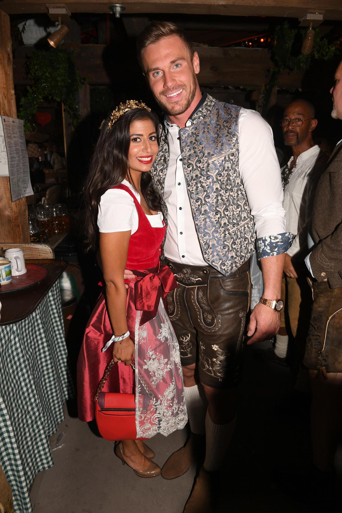 Eva Benetatou mit ihrem neuen Freund Chris