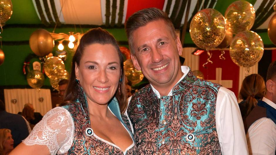 Simone Mecky-Ballack mit ihrem Mann Andreas Mecky