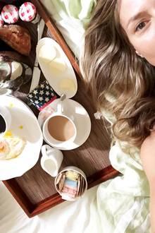 Heidi Klum kennt die Abnehmfallen am Morgen
