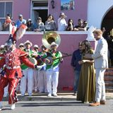 Prinz Harry + Herzogin Meghan: Mit Musik und Tanz wird der Heritage Day im bunten Viertel Bo-Kaamp gefeiert. Und die royalen Ehrengäste sind mit von der Partie.