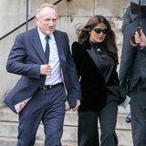 Salma Hayek wird von ihrem französischen Ehemann François-Henri Pinault begleitet.