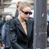 Model Gigi Hadid stehtdie Trauer ins Gesicht geschrieben.