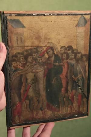 """""""Christus wird verspottet"""" vonCimabue"""