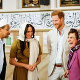 Prinz Harry + Herzogin Meghan: Prinz Harry und Herzogin Meghan bekommen eine interessante Führung durch die Auwal-Moschee in Kapstadt.
