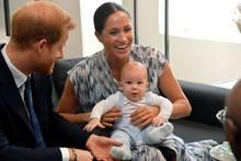Prinz Harry und Herzogin Meghan mit Baby Archie in Südafrika