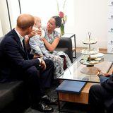 Prinz Harry + Herzogin Meghan: Keine Frage, bei diesem Treffen ist Baby Archie Harrison Mountbatten-Windsorder der Star!