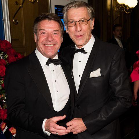 Patrick Lindner und Peter Schäfer