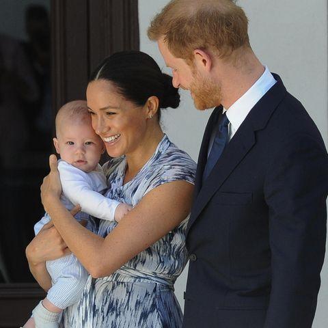Baby Archie Mountbatten-Windsor, Herzogin Meghan + Prinz Harry
