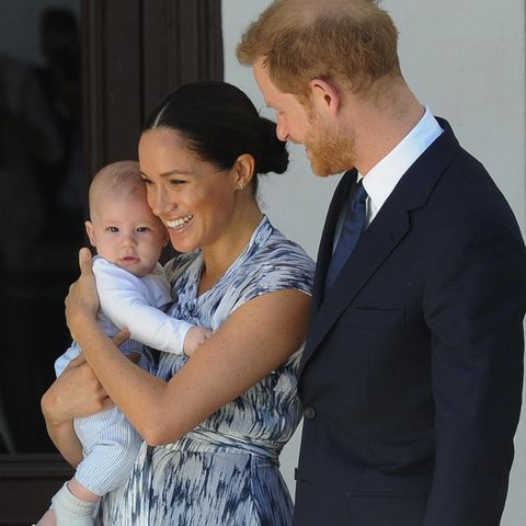 Baby Archie Mountbatten-Windsor, Herzogin Meghan + Prinz Harry