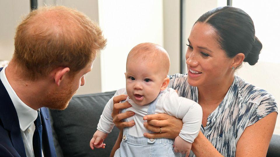 Prinz Harry, Baby Archie, Herzogin Meghan