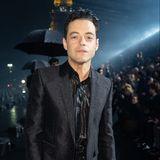 Oscargewinner Rami Malek trägt bei Saint Laurent die Farbe des Abends - Schwarz!