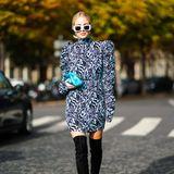 Influencerin Leonie Hanne reist seit Jahren für die neuesten Trends um die Welt. Ehrensache, dass sie auch bei der Pariser Fashion Week dabei ist.