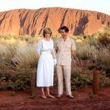 Ihre erste royale Tour machen Prinzessin Diana und Prinz Charles im März 1983. Sie brechen dabei mit der Tradition, indem sie ihren neun Monate alten Sohn Prinz William mit auf die Reise nach Australien und Neuseeland nehmen. Die kleine Familie bleibt ganze 41 Tage in den zwei Ländern.