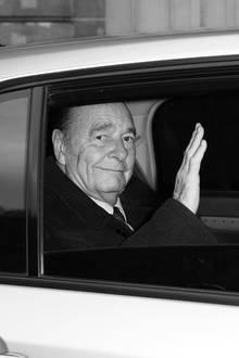 26. September 2019: Jacques Chirac (86 Jahre)  Der frühere französische Präsident Jacques Chirac ist im Alter von 86 Jahren gestorben. Zwölf Jahre lang, von1995 bis 2007, war der konservative Politiker Frankreichs Staatsoberhaupt.