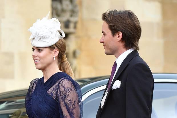 Prinzessin Eugenie und Edoardo Mapelli Mozzi bei der Hochzeit von Lady Gabriella Windsor.