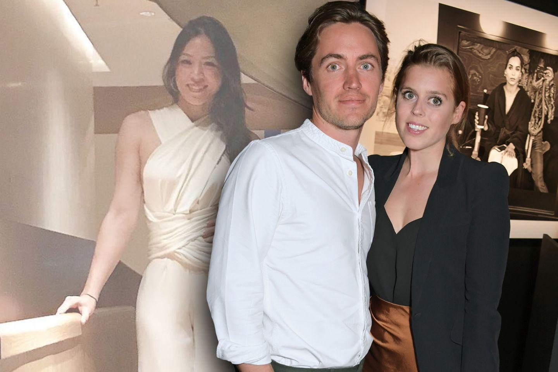 Dara Huang, Edoardo Mapelli Mozzi, Prinzessin Beatrice