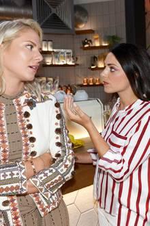 """""""GZSZ"""" am 1. Oktober: Sunny (Valentina Pahde), Emily (Anne Menden) und Lilly (Iris-Mareike Steen) diskutieren."""