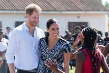 Harry und Meghan in Nyanga