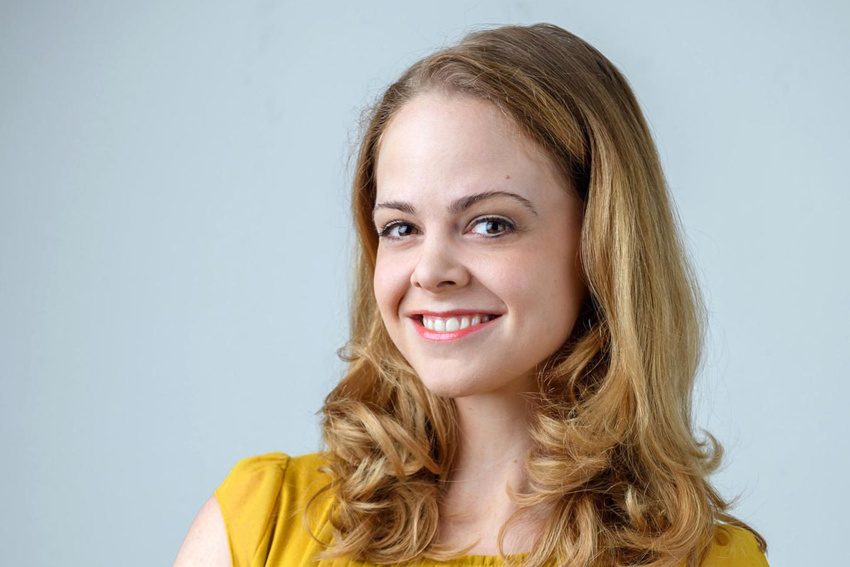 """Bei """"Sturm der Liebe"""" spielt Jennifer Siemann die Rolle der Lucy Ehrlinger."""