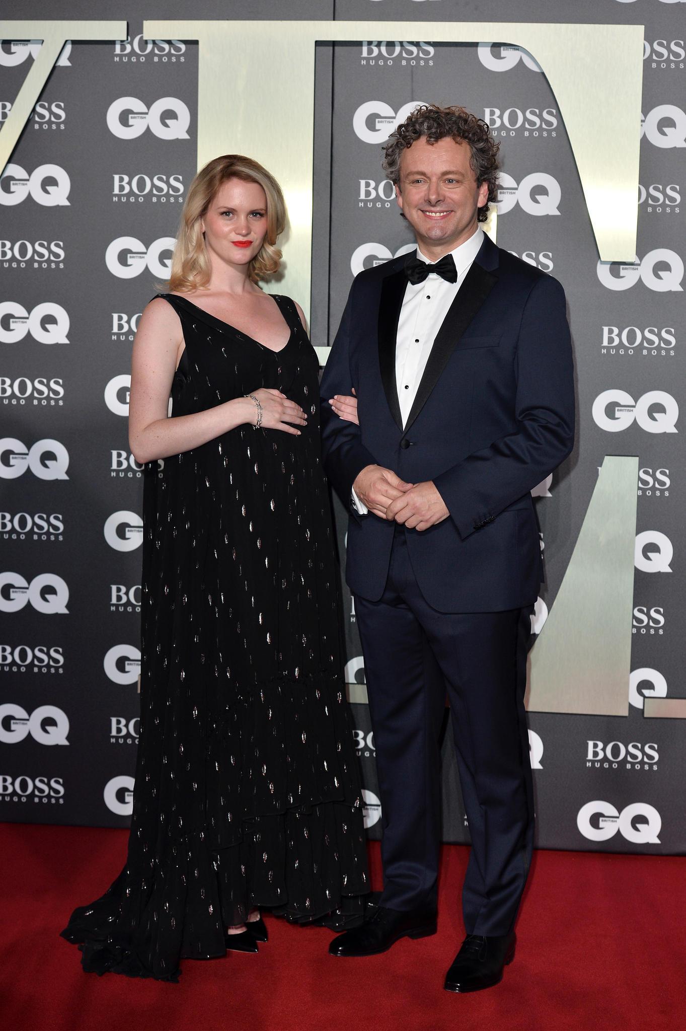 Anna Lundberg und Michael Sheen