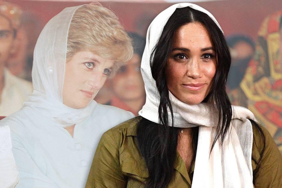 Prinzessin Diana und Herzogin Meghan