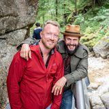 Brain, Body & Soul: Peter Breiling (Home Shopping Europe) und Manuel Cortez sind in bester Wanderlaune.