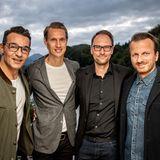 Brain, Body & Soul: Erol Sander, Oliver Zinnert (LVMH), Markus Schlichenmaier (Wilde & Partner) und Georgios Paparas (sloggi)