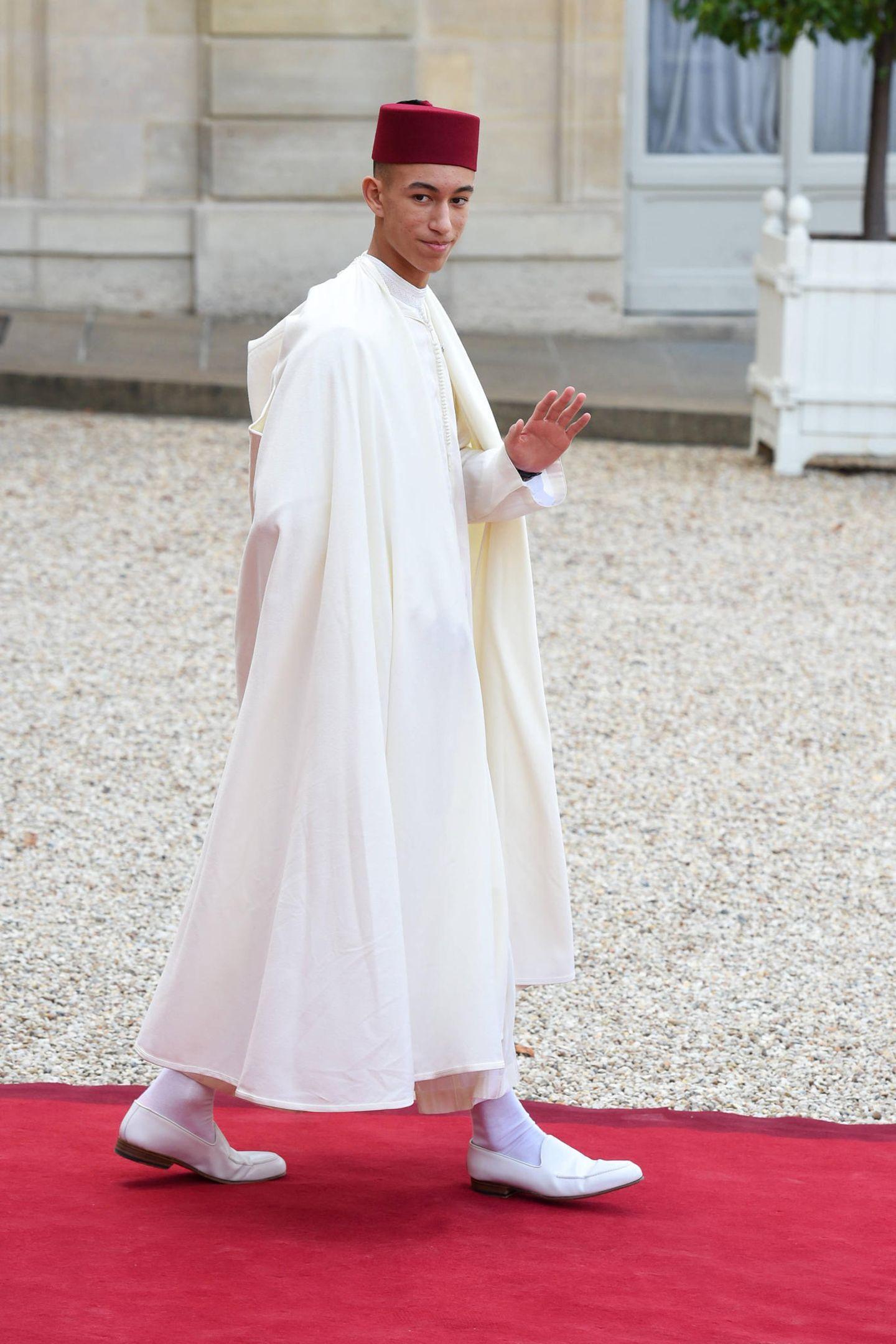 Prinz Moulay Hassan ist aus Marokko angereist.