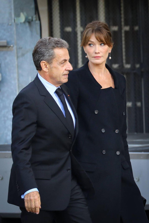 Auch Nicolas Sarkozy und Gattin Carla Bruni dürfen nicht fehlen.