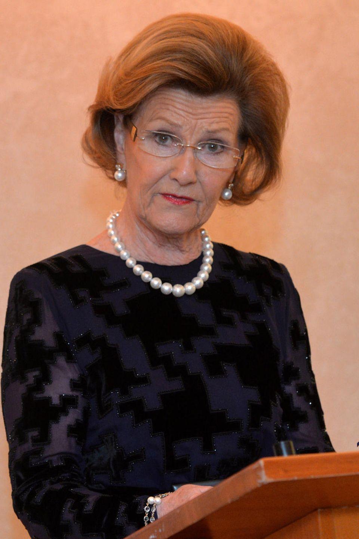 Königin Sonia von Norwegen nimmt viele Termine wahr und ist eine geübte Rednerin