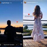 """Juni 2019  Die Fangemeinde der Reality-TV-Serie """"Der Bachelor"""" hat ein neues und ganz uninszeniertes Traumpaar: Sebastian Pannek und Angelina Heger geben in ihren Instagram-Storys deutliche Hinweise darauf, dass sie verliebt sind."""
