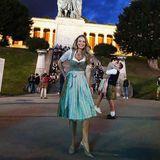 Oktoberfest 2019: Auch Schauspielerin Jana Schölermann macht eine gute Figur auf dem Oktoberfest.
