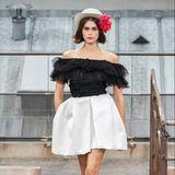 """""""Model of the Season"""" Kaia Gerber darf natürlich auch bei Chanel nicht fehlen."""